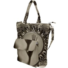 Mirror Mirror Of Souls Magic Mirror Shoulder Tote Bag
