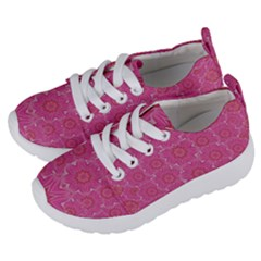 Bloom On In  The Soft Sunshine Decorative Kids  Lightweight Sports Shoes by pepitasart