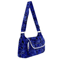 Neon Abstract Cobalt Blue Wood Multipack Bag