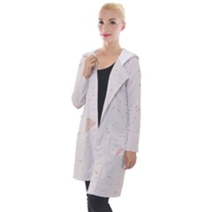 Blank Color Hooded Pocket Cardigan