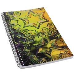 Background Star Abstract Colorful 5 5  X 8 5  Notebook by HermanTelo