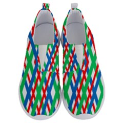 Geometric Line Rainbow No Lace Lightweight Shoes