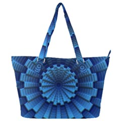 Mandala Background Texture Full Print Shoulder Bag