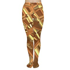 Gold Background Form Color Tights by Alisyart