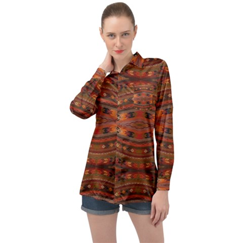 M 5 Long Sleeve Satin Shirt by ArtworkByPatrick