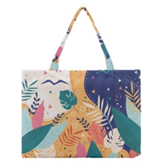 Tropical Pattern Medium Tote Bag