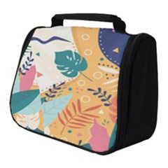 Tropical Pattern Full Print Travel Pouch (small)