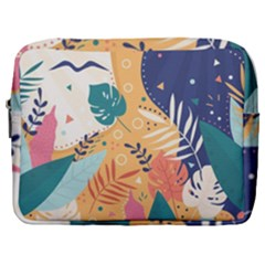 Tropical Pattern Make Up Pouch (large)