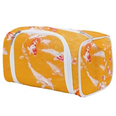 Koi Carp Scape Toiletries Pouch by essentialimage