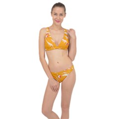 Koi Carp Scape Classic Banded Bikini Set  by essentialimage