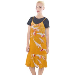 Koi Carp Scape Camis Fishtail Dress by essentialimage