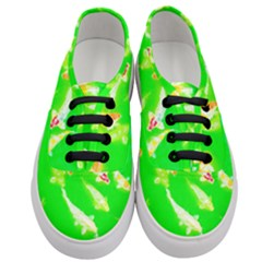 Koi Carp Scape Women s Classic Low Top Sneakers