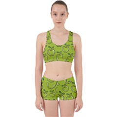 Fruit Apple Green Work It Out Gym Set by HermanTelo