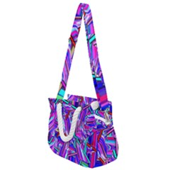 Stars Beveled 3d Abstract Rope Handles Shoulder Strap Bag by Mariart