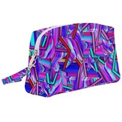 Stars Beveled 3d Abstract Wristlet Pouch Bag (large) by Mariart