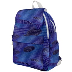 Binary Digitization Null Top Flap Backpack