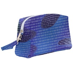 Binary Digitization Null Wristlet Pouch Bag (large)