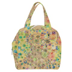 Flowers Color Colorful Watercolour Boxy Hand Bag