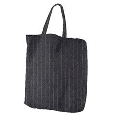 Pinstripe 1 Giant Grocery Tote by designbywhacky