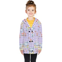 Zappwaits Spirit Kids  Double Breasted Button Coat by zappwaits