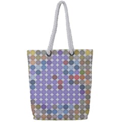 Zappwaits Spirit Full Print Rope Handle Tote (small)
