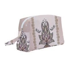 Elegant Decorative Mandala Design Wristlet Pouch Bag (medium)