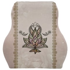 Elegant Decorative Mandala Design Car Seat Velour Cushion  by FantasyWorld7
