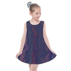Smudgy Lines Kids  Summer Dress