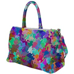 Colorful Spots                                   Duffel Travel Bag by LalyLauraFLM