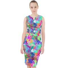 Colorful Spots                                     Midi Bodycon Dress