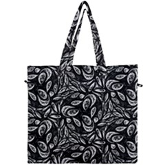 Fabric Pattern Flower Canvas Travel Bag