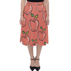 Fruit Apple Classic Midi Skirt