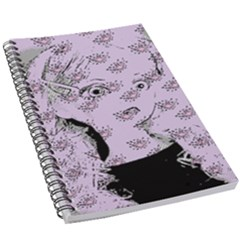 Wide Eyed Girl Lilac 5 5  X 8 5  Notebook by snowwhitegirl