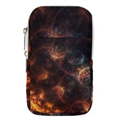 Fractal Pattern Background Space Waist Pouch (small)