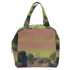 Planet Water Sea Landscape Space Boxy Hand Bag