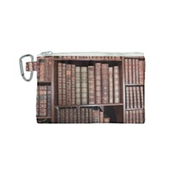 Library Books Knowledge Canvas Cosmetic Bag (small)