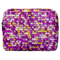 Funky Sequins Make Up Pouch (large) by essentialimage