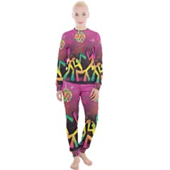 Dancing Colorful Disco Women s Lounge Set