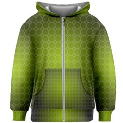 Hexagon Background Plaid Kids  Zipper Hoodie Without Drawstring