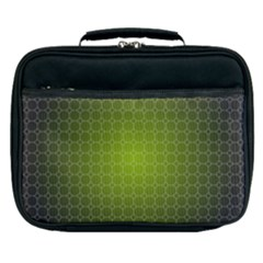 Hexagon Background Plaid Lunch Bag