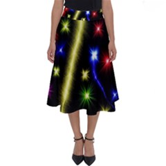 Fireworks Star Light Perfect Length Midi Skirt
