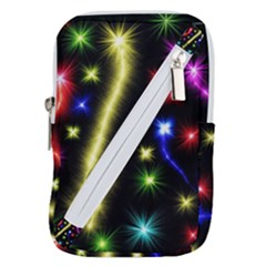 Fireworks Star Light Belt Pouch Bag (large)