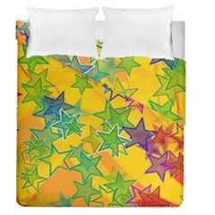 Star Homepage Abstract Duvet Cover Double Side (queen Size)