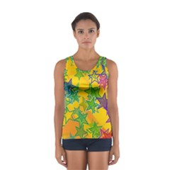 Star Homepage Abstract Sport Tank Top