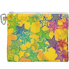 Star Homepage Abstract Canvas Cosmetic Bag (xxxl)