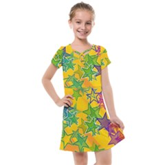 Star Homepage Abstract Kids  Cross Web Dress by Alisyart