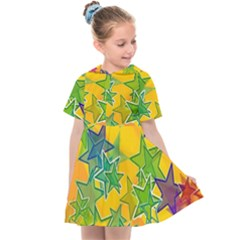 Star Homepage Abstract Kids  Sailor Dress