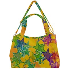 Star Homepage Abstract Double Compartment Shoulder Bag by Alisyart