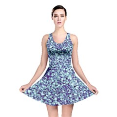 Blue Shells Reversible Skater Dress by treegold