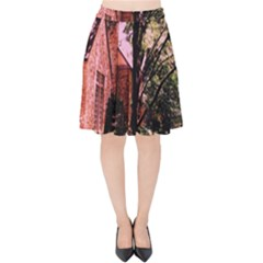 Hot Day In  Dallas 6 Velvet High Waist Skirt by bestdesignintheworld